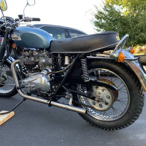 1977 Triumph just serviced. Open to trades for non working bikes for Sale in Clarksburg, MD