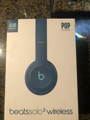 Beats solo 3 wireless for Sale in Empire, CA