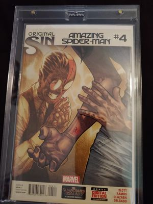 Amazing Spider-Man issue 4 1st app of silk for Sale in BVL, FL