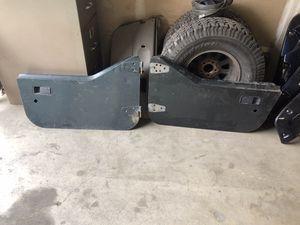 Jeep Wrangler TJ half doors for Sale in Fresno, CA