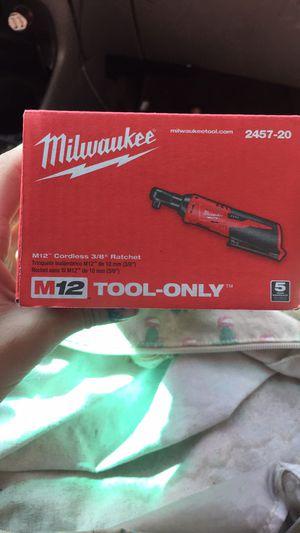 Milwaukee 3/8 ratchet for Sale in Phoenix, AZ