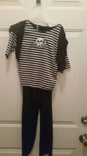 Pirate costume Halloween size 6 girls for Sale in Coral Springs, FL