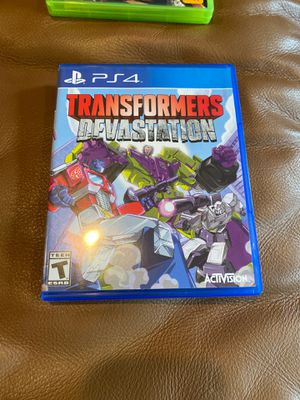 Transformers Devastation PS4 for Sale in Norwood, OH