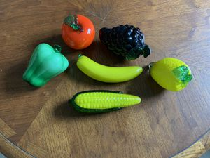 Antique glass fruit and veggies for Sale in Strongsville, OH