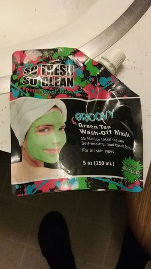 Green tea wash off Mask used for Sale in Appleton, WI