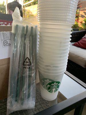Grande mini starbucks cups for Sale in Baldwin Park, CA