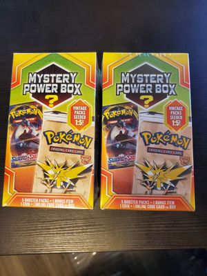 Pokemon Mystery Boxes for Sale in Georgetown, TX