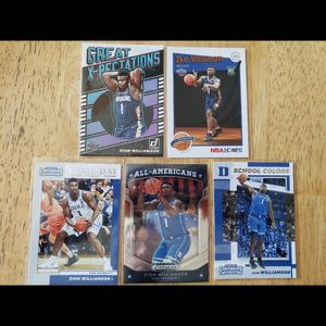 Zion Williamson New Orleans Pelicans NBA basketball cards for Sale in Gresham, OR