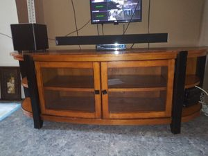 Tv stand like new use $95 for Sale in Philadelphia, PA