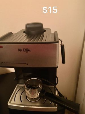 Mr coffee maker along with froth for Sale in St. Louis, MO