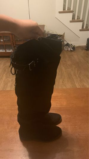 JustFab Thigh High Boots Size 8.5 for Sale in Albuquerque, NM