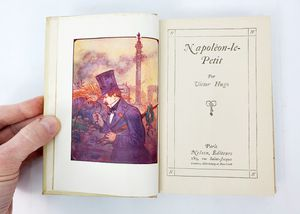 Napoleon-le-Petit by Victor Hugo (French Language) - Hardcover - Nelson Editors, Paris (1930) for Sale in Trenton, NJ