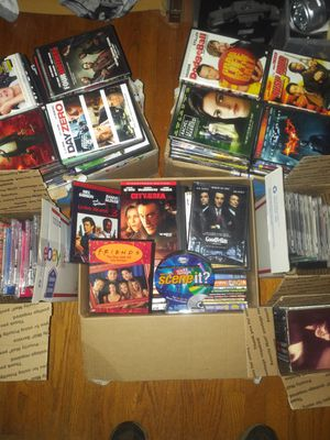 Large lot of DVDs and Cds for Sale in Fall River, MA