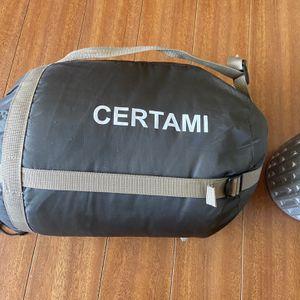 Certami Sleeping Bag (with bonus camping pad!) for Sale in Los Angeles, CA