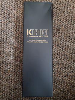 Kipozi .9 inch hair straightener for Sale in San Angelo,  TX