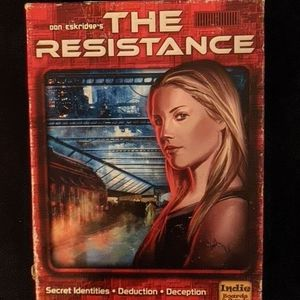 The Resistance - Small Board Game for Sale in Seattle, WA