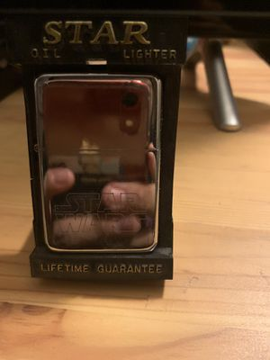 Star Wars zippo lighter for Sale in Stanton, CA