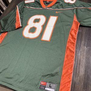 Miami Hurricanes Jersey #81 for Sale in Port St. Lucie, FL