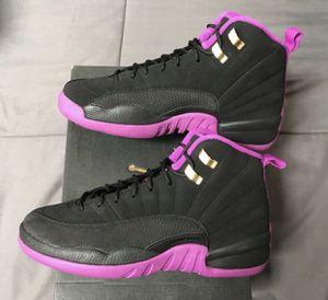 Nike Air Jordan XII 12 Retro Hyper Violet 5y 5.5 6y 6.5y Basketball shoes NEW DS! for Sale in San Diego, CA