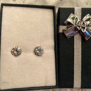 Silver Earrings 925 (New) for Sale in Visalia, CA