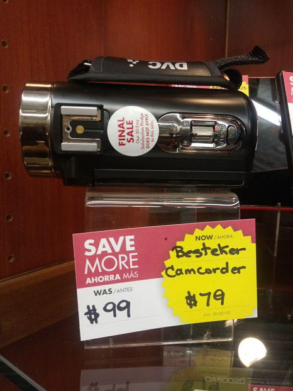 Besteker Camcorder $79
