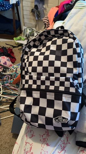 Small vans bagpack for Sale in Mulberry, FL