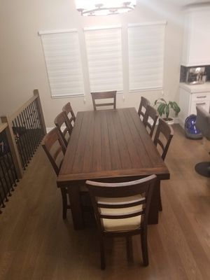 Dining table with 10 chairs for Sale in Orland Park, IL
