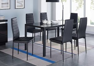 LIKE NEW DINING ROOM TABLE + 6 CHAIRS for Sale in Miami, FL