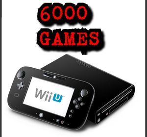 Nintendo Wii U Over 6k games! for Sale in New York, NY