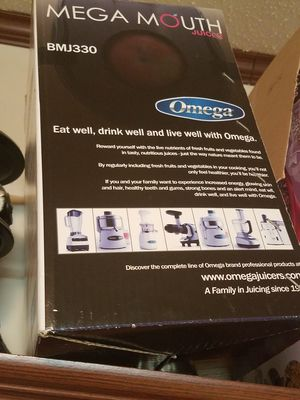 Omega juicer still in box wife didn't want for Sale in NC, US