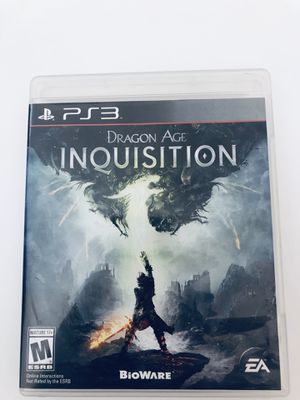 PS3 Video Game Dragon Age Inquisition Tested for Sale in Fuquay-Varina, NC