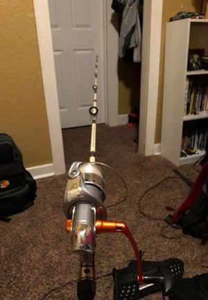 Open face fishing pole for Sale in Wichita, KS