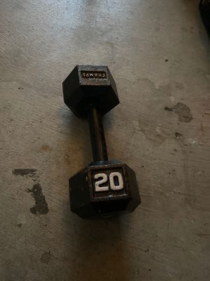 20lb dumbbell for Sale in Seattle, WA