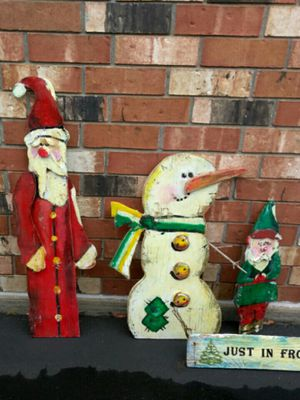 Tole painted Christmas Originals for indoor/Outdoor for Sale in East Wenatchee, WA