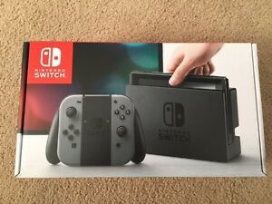 Nintendo Switch (Gray) W/ Protective Screen Cover for Sale in Seattle, WA