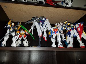 Selling my entire collection of gundam mg wing, seeds, exia and more!!! for Sale for sale  Bronx, NY