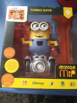 New in box Turbo Dave minion mip Robot Bluetooth Smart for Sale in Elizabethton, TN