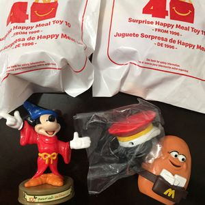 4 collectible McDonald's happy meal toys for Sale in Lawndale, CA