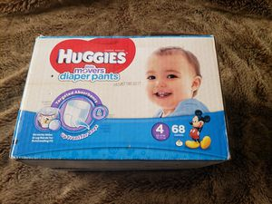 Diapers size 4 for Sale in Hawthorne, CA