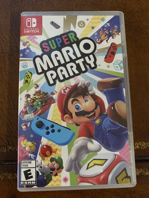 Brand New Super Mario Party for Nintendo Switch for Sale in Sacramento, CA