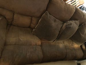 Double reclining couch for Sale in Fresno, CA