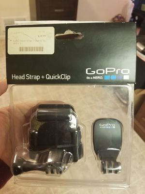 GoPro head strap and clip for Sale in Salt Lake City, UT