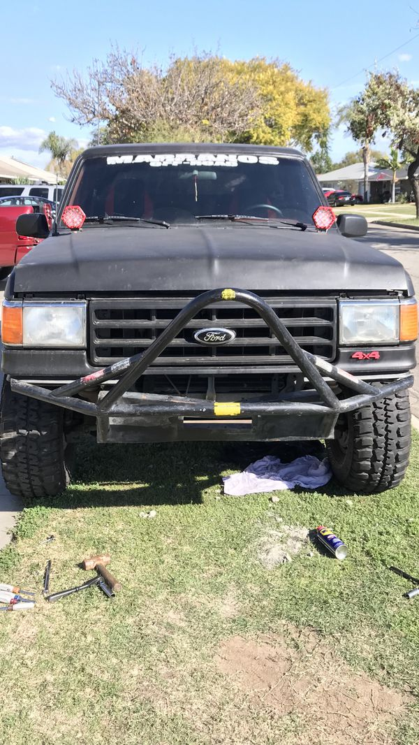 Off road bumper for ford bronco