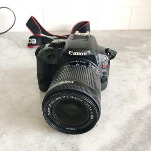 Canon SL1 18mp dslr excellent condition for Sale in Minocqua, WI
