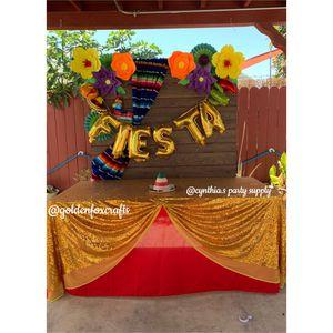 Fiesta Theme Dessert Table for Sale in Huntington Park, CA
