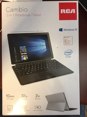RCA 2 in 1 Notebook Tablet brand new for Sale in Atlanta, GA