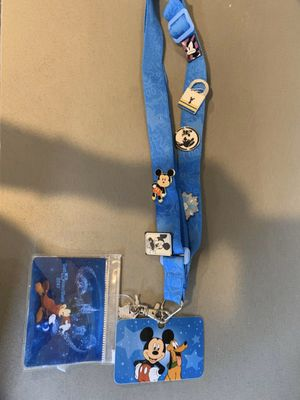 Disney lanyard with pins for Sale in Bellevue, WA