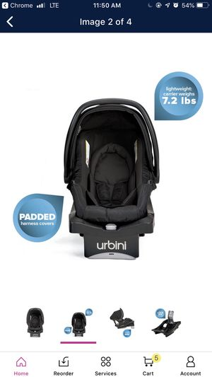 Urbini Sonti Car seat New in box never opened for Sale in Springfield, MA