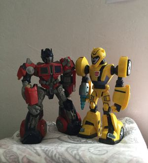 Optimus Prime & Bumble Bee for Sale in San Diego, CA