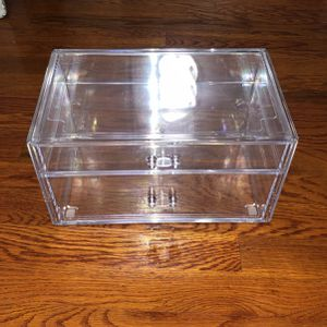 Acrylic Makeup Organizer for Sale in Brooklyn, NY